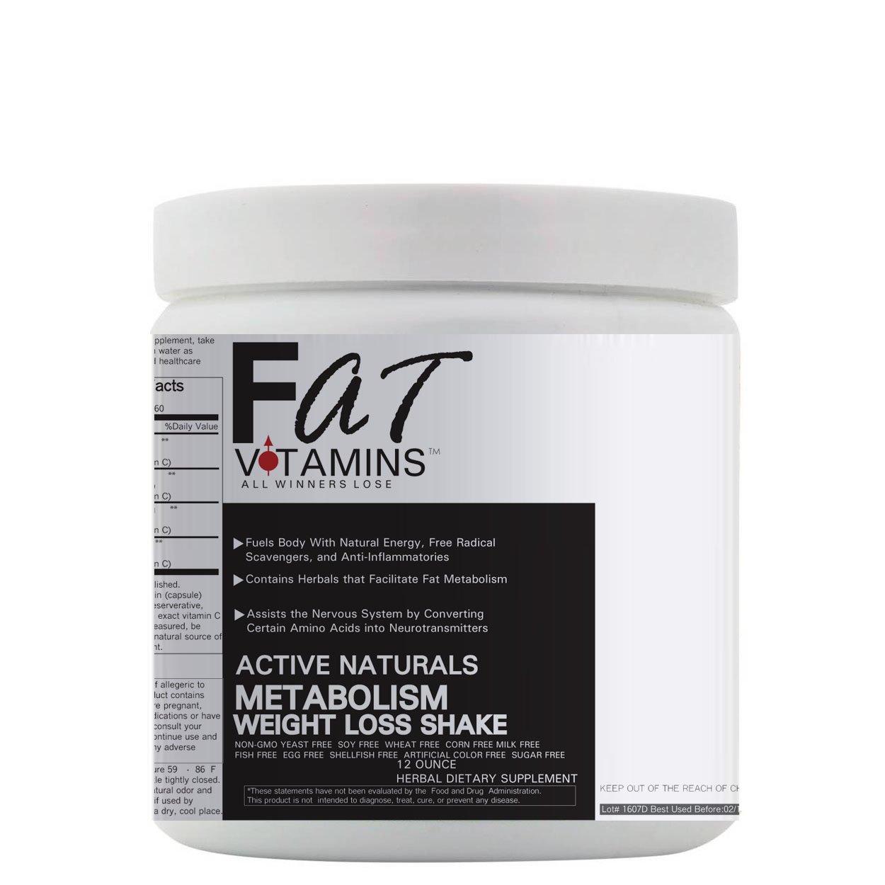 Metabolism Enhancer Weight Loss Shake