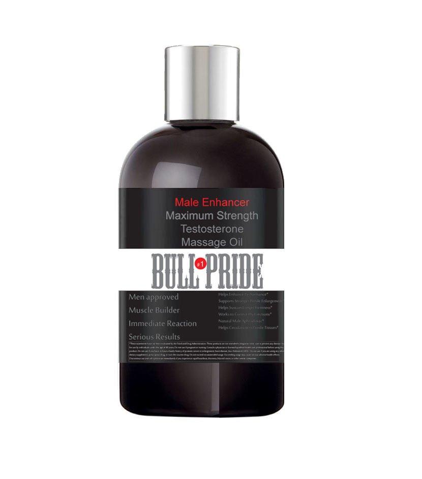 Bull Pride Testosterone Massage Oil