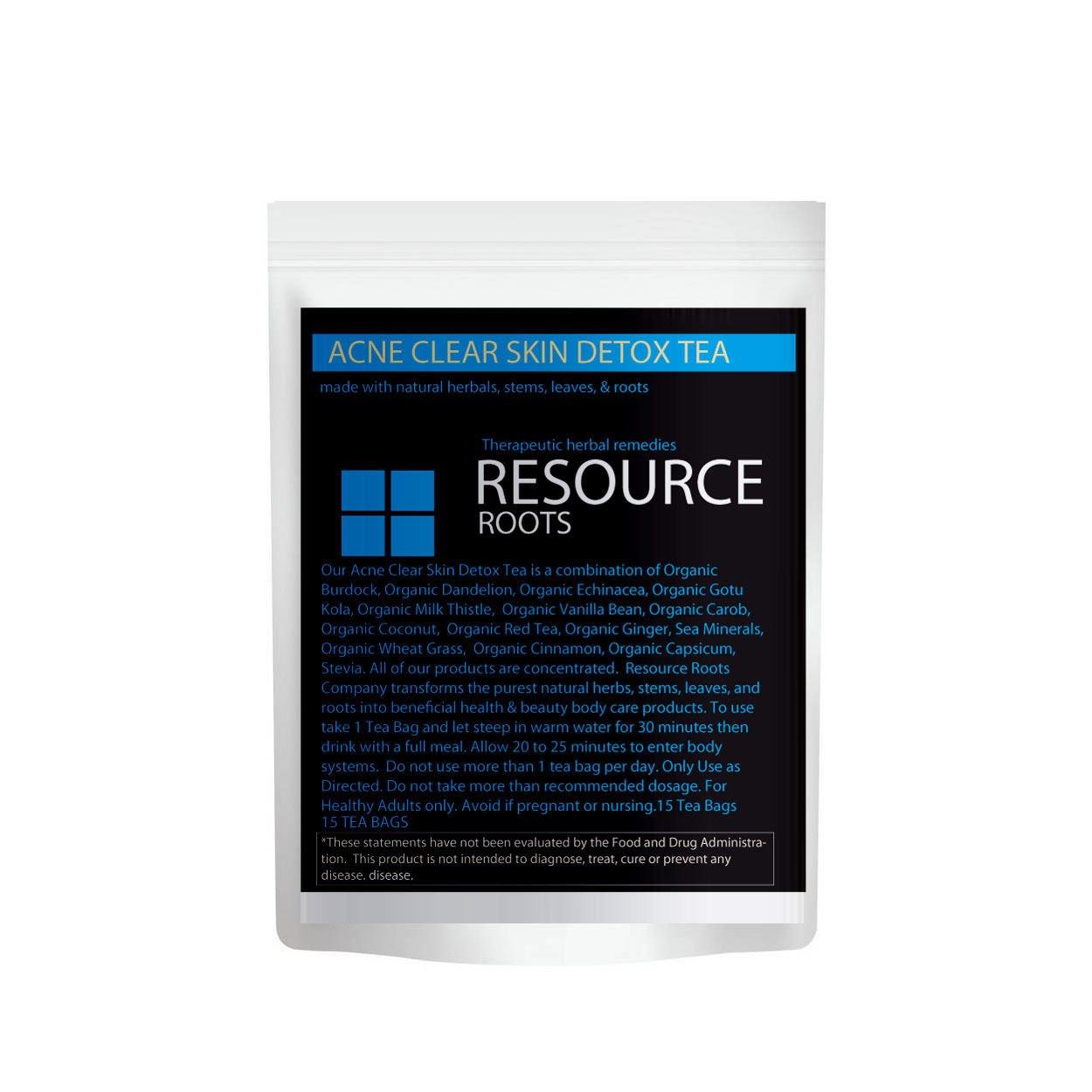 Acne Clear Skin Detox Tea