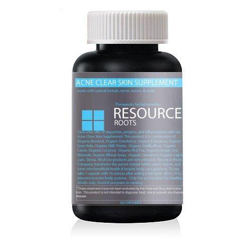 Acne Clear Skin Detox Herbal Supplement