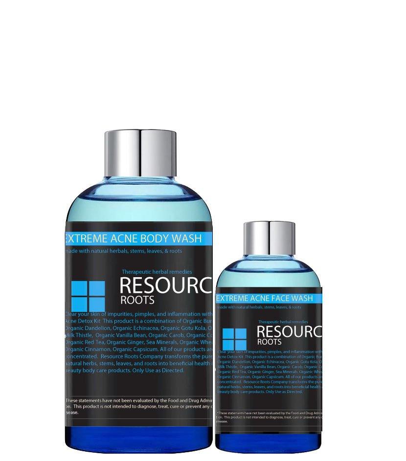 Extreme Acne Clear Skin Detox Kit