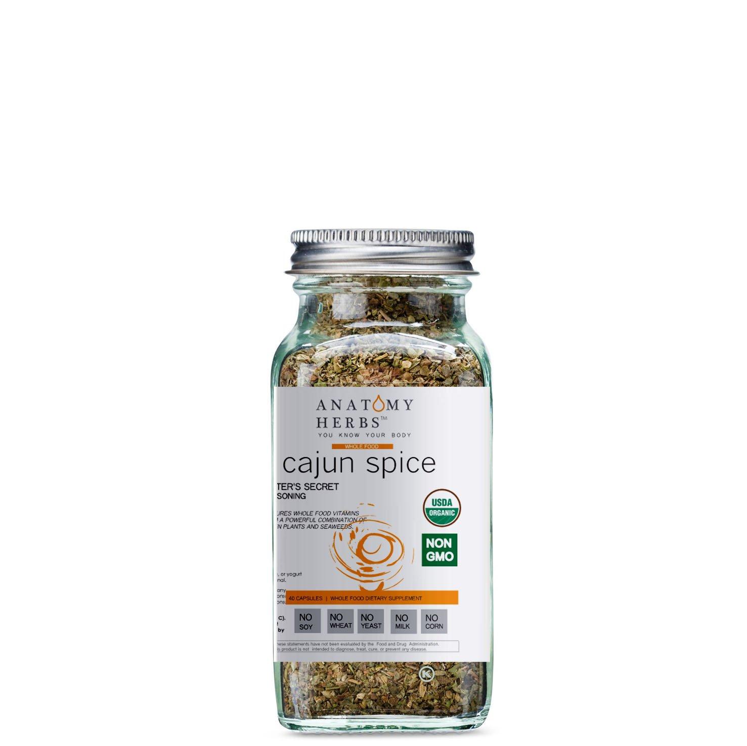 Cajun Spice Dieter's Secret Seasoning  (Fat Burner)