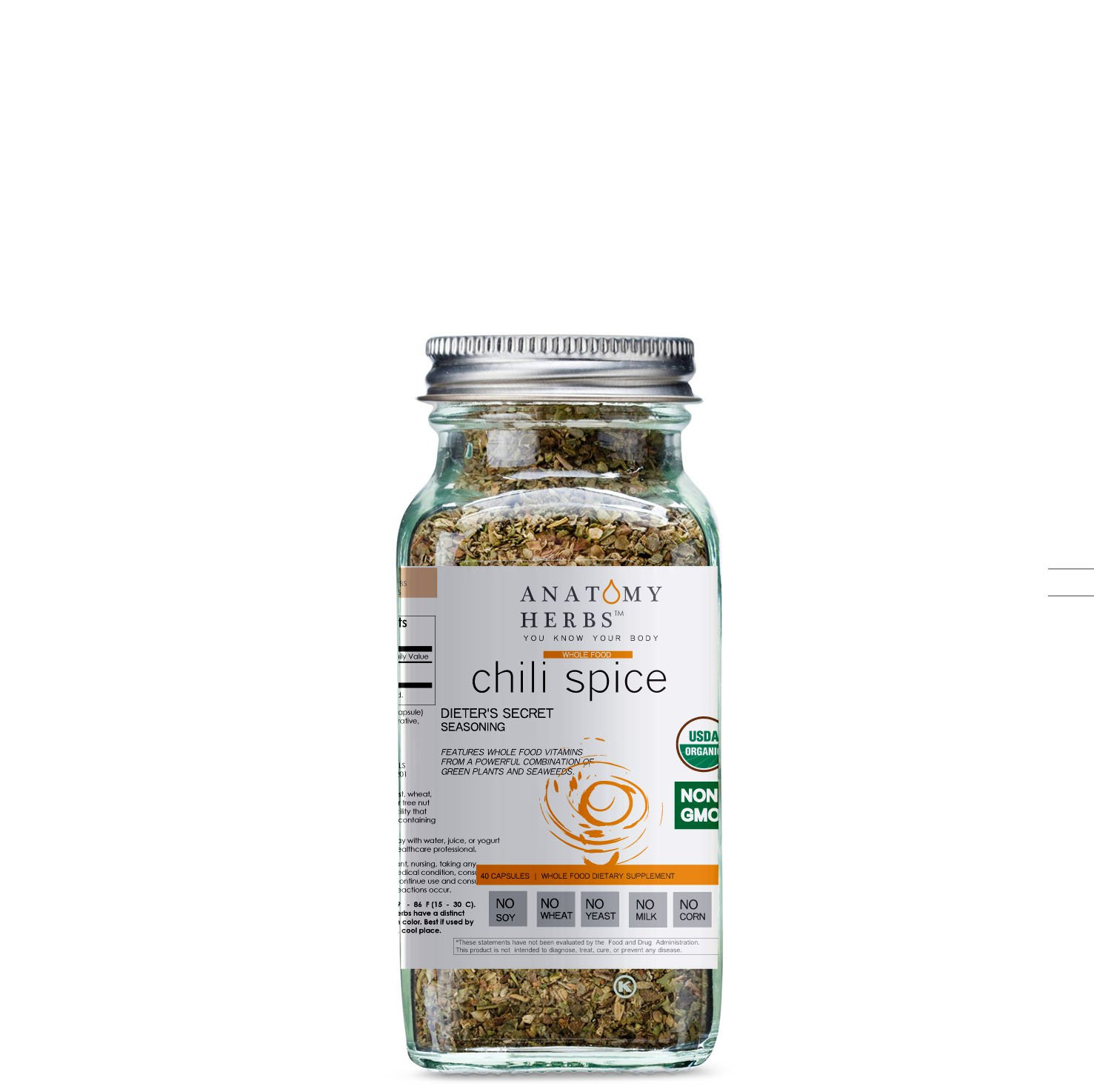 Chili Spice Dieter's Secret Seasoning (Fat Burner)