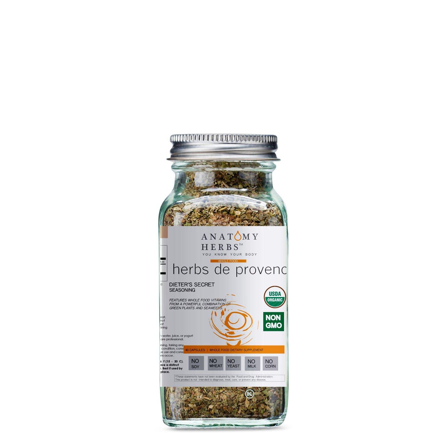 Herbs de Provence Dieter's Secret Seasoning (Fat Burner)