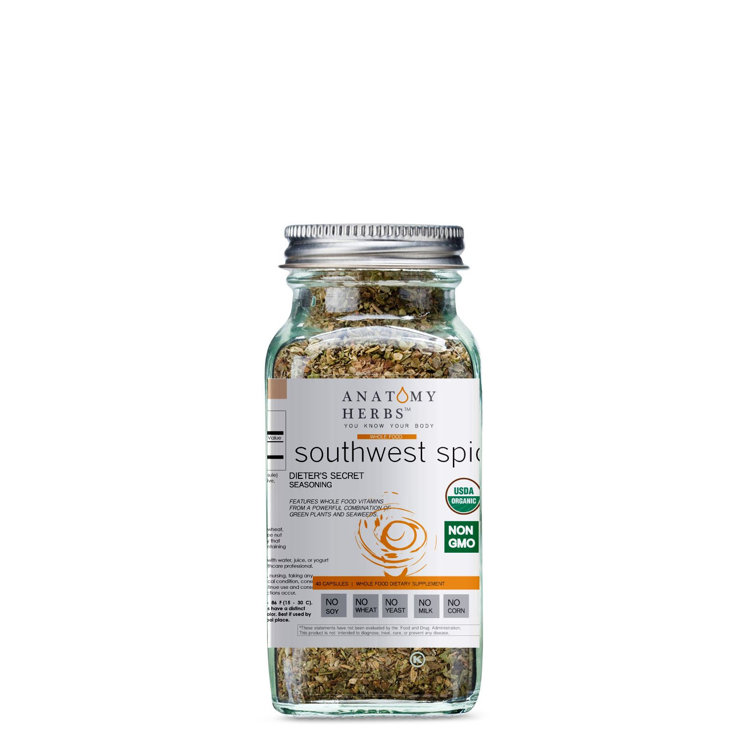 Southwest Spice Dieter's Secret Seasoning (Fat Burner)