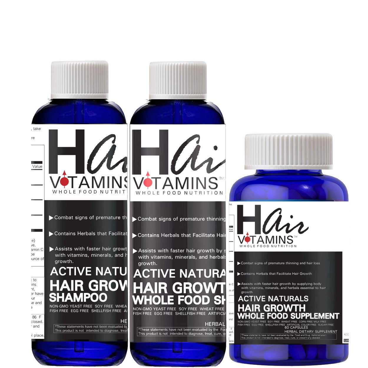 Super Speed Hair Growth Kit (Whole Food Nutrition)
