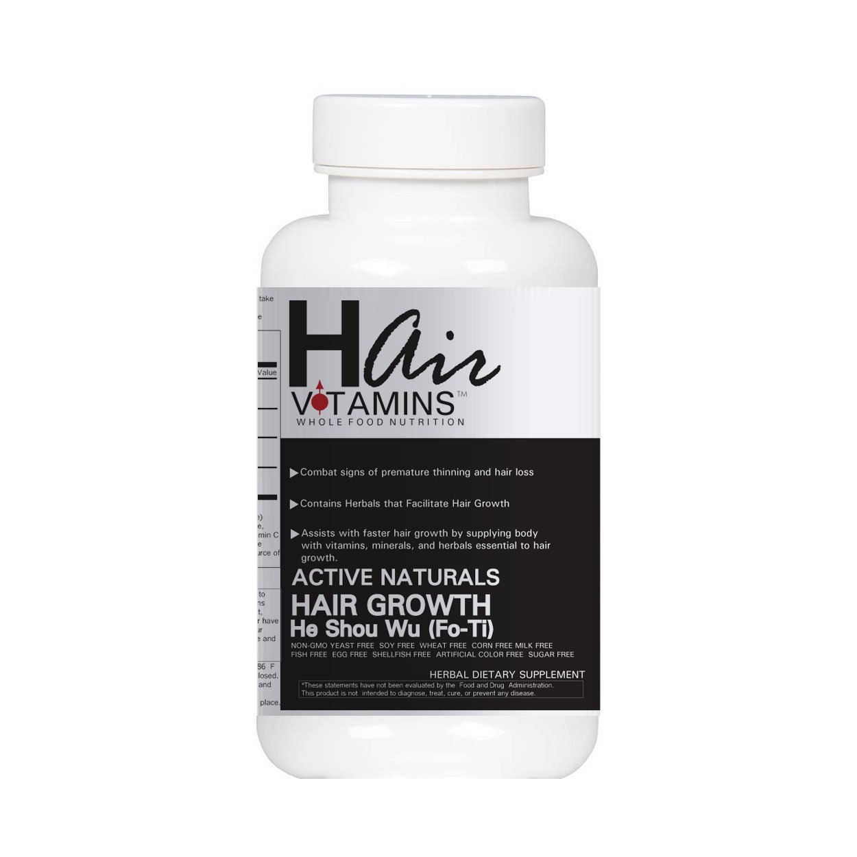 He Shou Wu (Fo-Ti) Super Speed Hair Growth Support Capsules