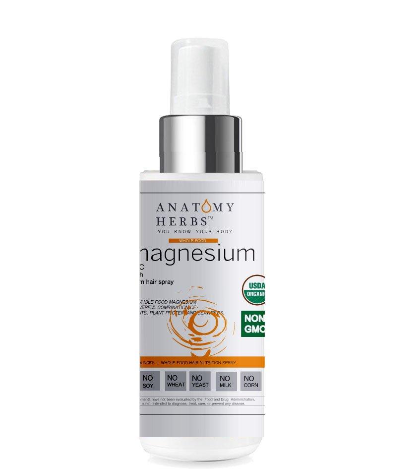 Anatomy Herbs Supercharge Magnesium Hair Growth Spray