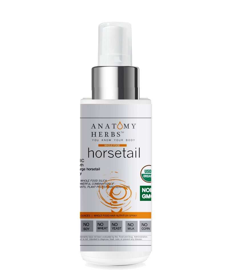 Anatomy Herbs Supercharge Horsetail Hair Spray