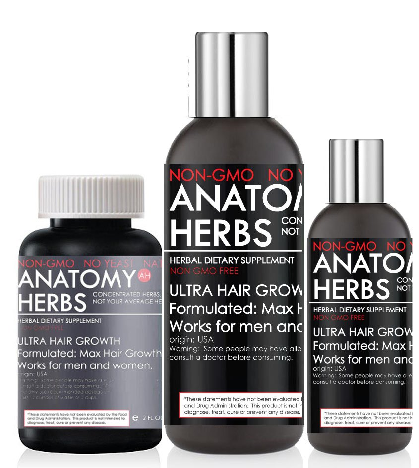 Anatomy Herbs Ultra Hair Growth Program