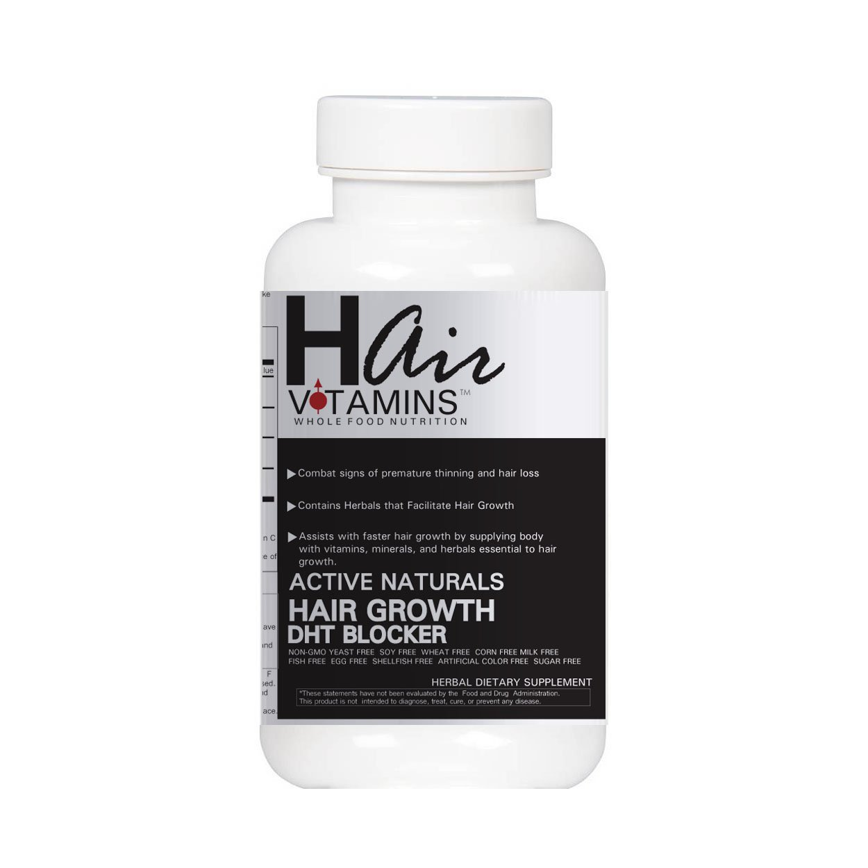 DHT Herbal Hair Growth Support Capsules