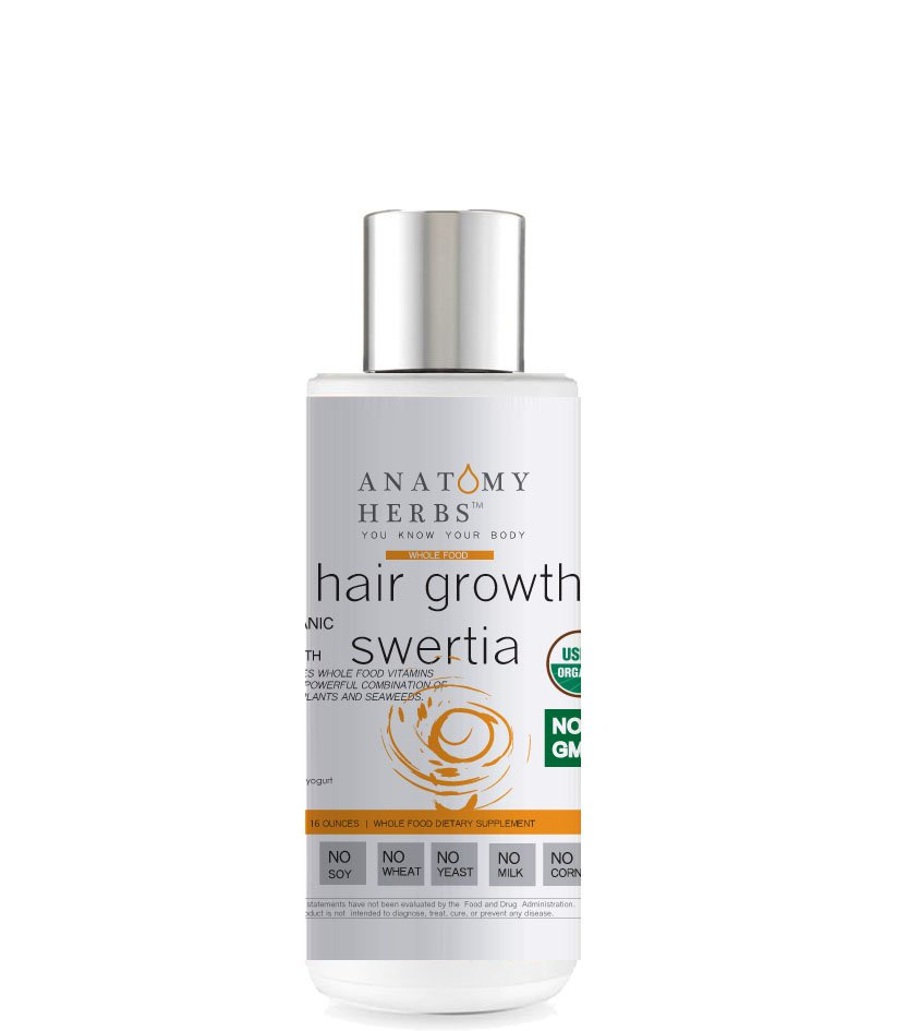 Swertia Thicker Hair Growth Shampoo