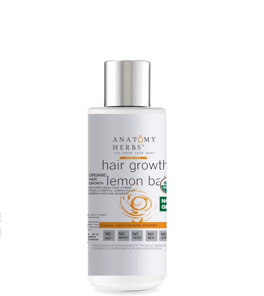 Lemon Balm Scalp Stimulating Hair Growth Shampoo