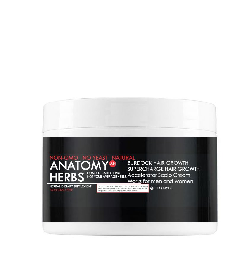 Burdock Supercharge Accelerator Hair Growth Thickening Cream
