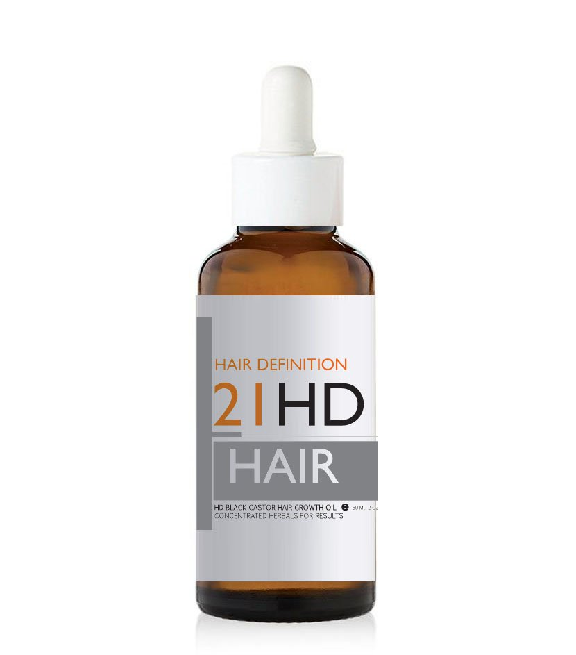 HD Black Castor Hair Growth Stimulating Oil