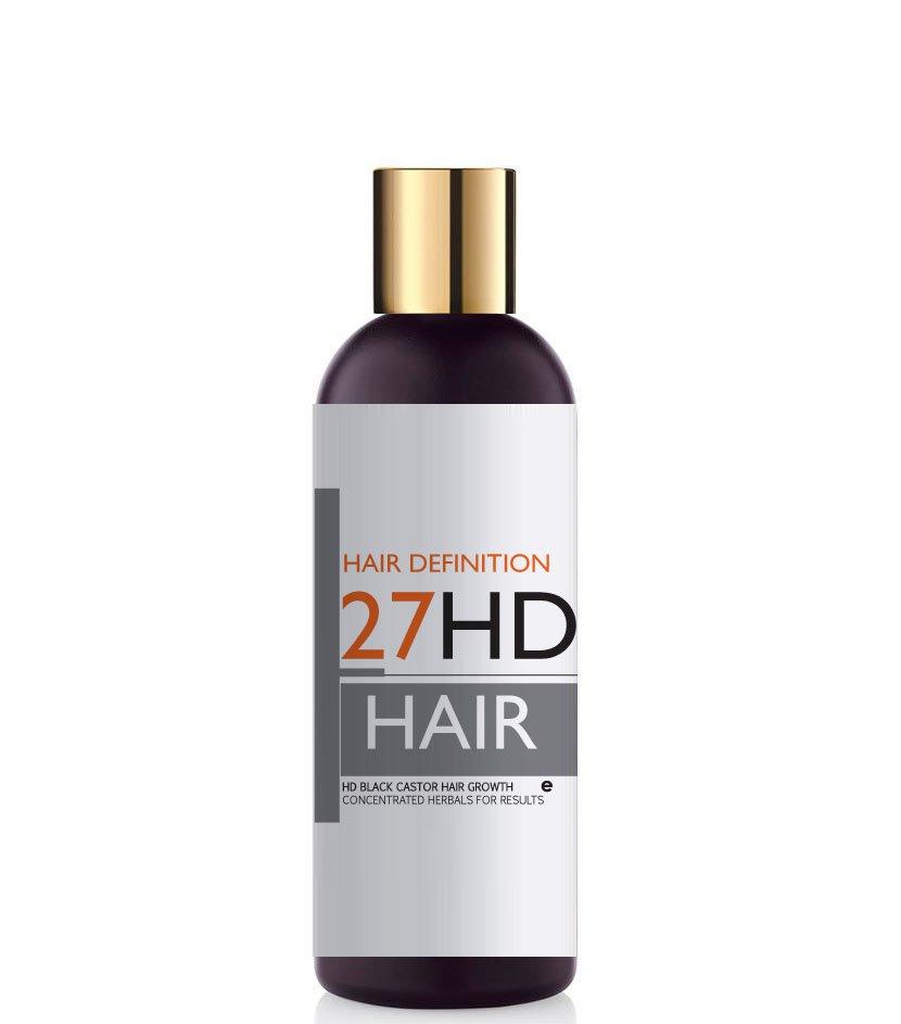 HD Black Castor Hair Growth Stimulating Shampoo