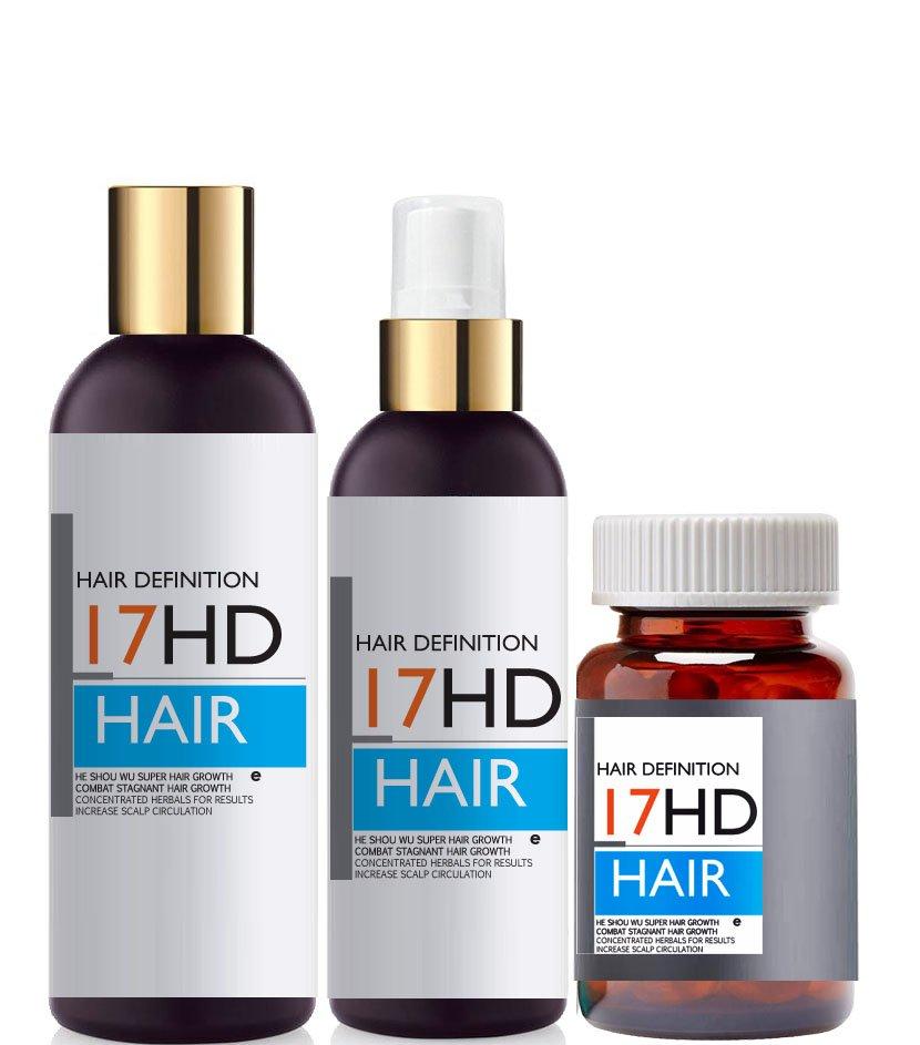 He Shou Wu Chinese Super Hair Growth Kit