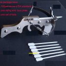 Stainless Steel Mini Crossbow Tabletop Car Decoration New Slingshot Model Fun Toy
