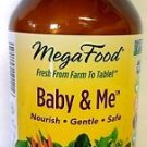 MegaFood - Baby & Me Prenatal / Postnatal Support for Mother / Baby, 120 Tablets
