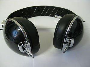 USED ROCNATION Skullcandy S6AVDM-156 Aviator Headphones in Black