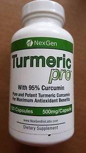 NexGen - Turmeric Pro - 500 mg, 120 Capsules