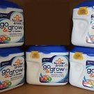 Go & Grow by Similac, Stage 3 Milk Based, Powder, 1.38 lbs. (Pack of 5)