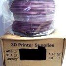 3D Printer Filament 1kg / 2.2lbs HIPS for Most 3D Printers - Purple