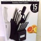 Cuisinart 15-Piece Stainless Steel Hollow Handle Block Set - C77SS-15PK