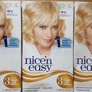 (3 Pack) Clairol Nice 'N Easy Hair Color, 087 Ultra Light Natural Blonde Kit