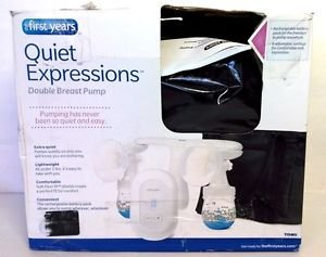 Used The First Years Quiet Expressions Plus Double Electric Breast Pump
