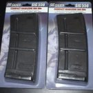 2 Pack of Soft Air SIG Magazine (300 Rounds) - Black - Short