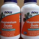 (2 Pack) Now Foods Magnesium Oxide Powder, 8-Ounce Bottle