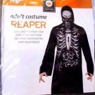 Disguise - Men's Reaper Hooded Print Robe Costume - One Size
