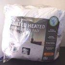 Biddeford Used Heated Quilt Mattress Pad Full Size