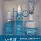 H2O+ Oasis Intensive Hydration System for Unisex 4 Piece Kit