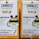 (2 Pack) Zarbee's Naturals Baby Cough Syrup Cherry - 2 oz