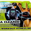 Used Easy Body Shredder Electric Abdominal Toning Belt - AB-MUSCL-089 - No Pads
