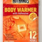 40 Pack HeatMax Supersize BODY WARMER WITH ADHESIVE 12 Hours