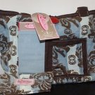 2 Red Hens Rooster Seymore Diaper Bag