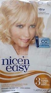 (3 Pack) Clairol Nice 'N Easy Hair Color, 087 Ultra Light Natural Blonde 1 Kit