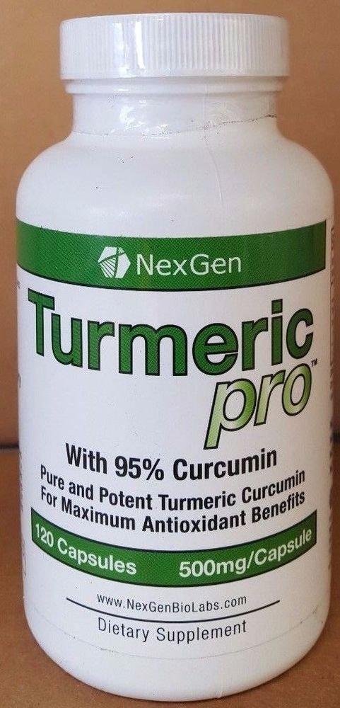 NexGen Turmeric Pro Digestion Bone Joint Support 120cap 500mg