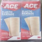 "ACE Elastic Bandage 2"" with Hook Closure, (Pack of 2)"