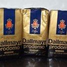 3 Pack Dallmayr Gourmet Coffee, Prodomo Ground, 17.6 oz