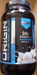 ORIGIN Whey Isolate Protein Powder, Vanilla, 2 lb.