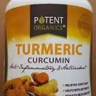 Potent Organics - Turmeric Curcumin, 60 Capsules