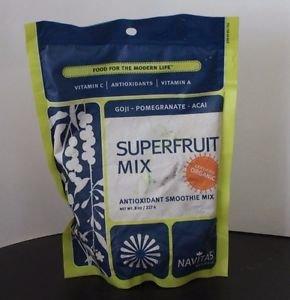 Navitas Naturals Organic Antioxidant Superfruit Blend 8 oz Distressed Packaging