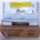 MMF Industries 2362010N06 9x12-In Tamper-Evident Deposit Bags 100 Pack - White