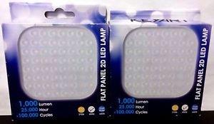 2 Pack of KEYART 2D LED Retrofit Flat Panel LED for 2D GR8 GR10 - 14W 4000K