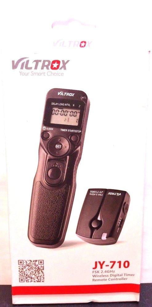 Viltrox Wireless Remote Timer Shutter Release or Canon T4i t5i t3i t2i 60D 70D
