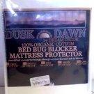 Dusk 2 Dawn Organic Cotton Bed Bug Blocker Mattress Protector - King - 78x80x12